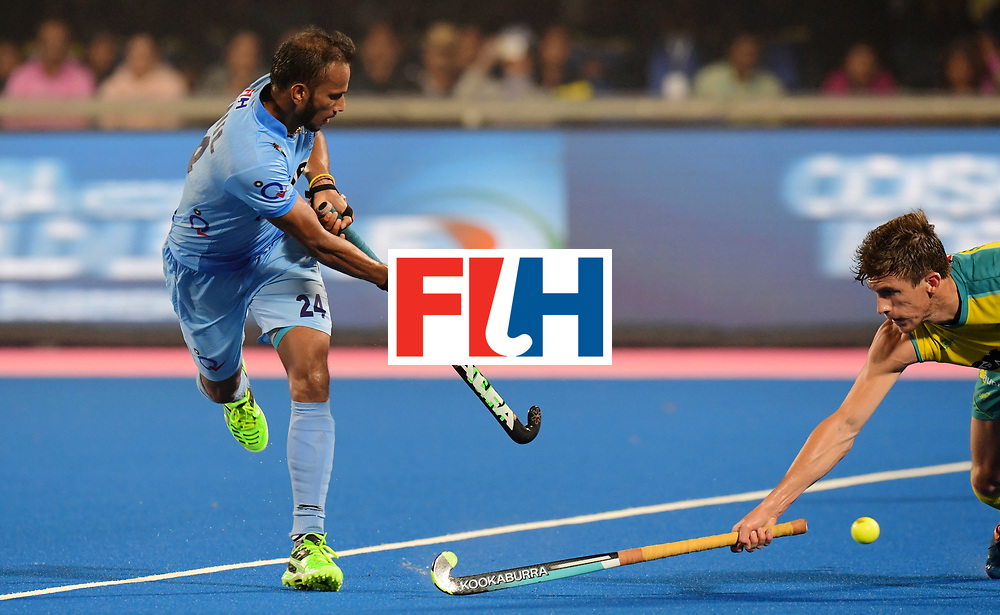Odisha Men's Hockey World League Final Bhubaneswar 2017<br /> Match id:02<br /> Australia v India<br /> Foto: SOWMARPET Sunil<br /> WORLDSPORTPICS COPYRIGHT FRANK UIJLENBROEK