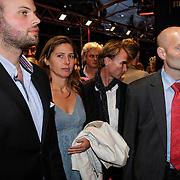 NLD/Utrecht/20120926- Nederlands Filmfestival 2012, NFF, gewapende beveiliging van Aleid Wolfsen en partner