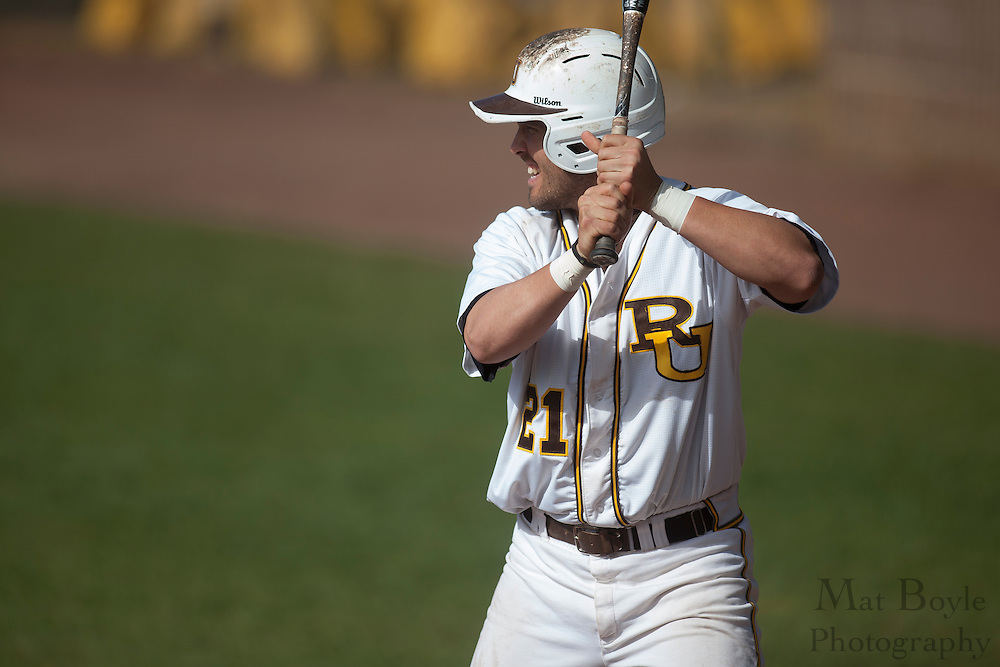 Rowan University Senior Outfielder Matt Hill (21); Rowan University Baseball hosts Elizabethtown College on Tuesday April 17, 2012 in Glassboro, NJ. (photo / Mat Boyle)