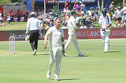 Pretoria 26-12-18. The 1st of three 5 day cricket Tests, South Africa vs Pakistan at SuperSport Park, Centurion. Day 1. South African batsman Dale Steyn after he had taken his 422th wicket.<br /> Picture: Karen Sandison/African News Agency(ANA)