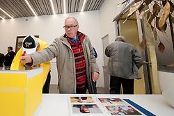 Tomaz Lajevec na okrogli mizi na 1. slovenskem hokejskem forumu v organizaciji SportForum Slovenija, November 30, 2011, Kristalna Palaca, BTC City, Ljubljana, Slovenija. (Photo By Matic Klansek Velej / Sportida)