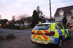 Suffolk village in lockdown as dramatic stand-off between armed police and &lsquo;gunman&rsquo; enters third day<br /> <br /> <br /> Crowfield - Police incident<br /> <br /> <br /> His Cousin  Johnathan Clarke confirmed that Mark Clarke had been arrestted <br /> A police incident in Crowfield is now at an end and has been resolved peacefully.<br /> <br /> Officers were called at 11.15pm on Monday 16 January to concerns for the welfare of a man at a property in the village.<br /> <br /> A large police presence remained in place in the village from Monday night and throughout yesterday and today, as officers worked to ensure the safety of the man and local residents.<br /> <br /> At around 3.30pm this afternoon, Wednesday 18 January, the man &ndash; aged 42 - exited the house and was detained by police.<br /> <br /> He has been arrested on suspicion of making threats and possession of a firearm and will now be taken into police custody for questioning.<br /> <br /> Police have recovered at least one firearm so far as searches of the property continue.<br /> <br /> Stone Street is expected to reopen at around 5pm and traffic will then be able to flow freely through the village again. &copy;UKNIP