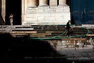 Church steps, Paris