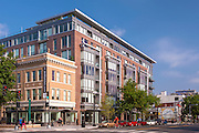 Architectural exterior image of DC District Apartments in Washington by Jeffrey Sauers of Commercial Photographics