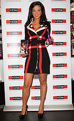 Tulisa Contostavlos at the launch of her new perfume in London, Wednesday October 26th, 2011. Photo by: i-Images<br />