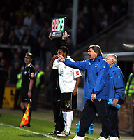 Photo: Mark Stephenson/Sportsbeat Images.<br /> Hereford United v Darlington. Coca Cola League 2. 03/11/2007.Hereford's manager Grahan Turner shouts his orders
