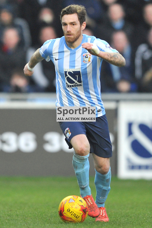 ROMAIN VINCELOT COVENTRY CITY, Coventry City v Burton Albion, Ricoh Arena,  Sky Bet League 1, Saturday 16th JJanuary 2016, (Mike Capps/Sportpix)