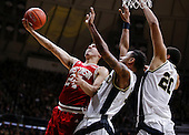 NCAA Basketball - Purdue Boilermakers vs Wisconsin Badgers - West Lafayette, IN