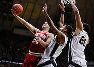 NCAA Basketball - Purdue Boilermakers vs Wisconsin Badgers - West Lafayette, IN