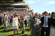 Glorious Goodwood. 31 July 2007.  -DO NOT ARCHIVE-© Copyright Photograph by Dafydd Jones. 248 Clapham Rd. London SW9 0PZ. Tel 0207 820 0771. www.dafjones.com.