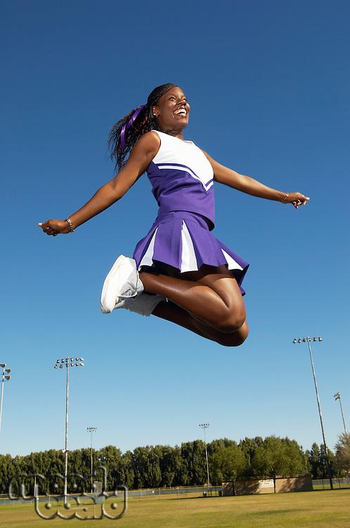 Cheerleader Mid-air