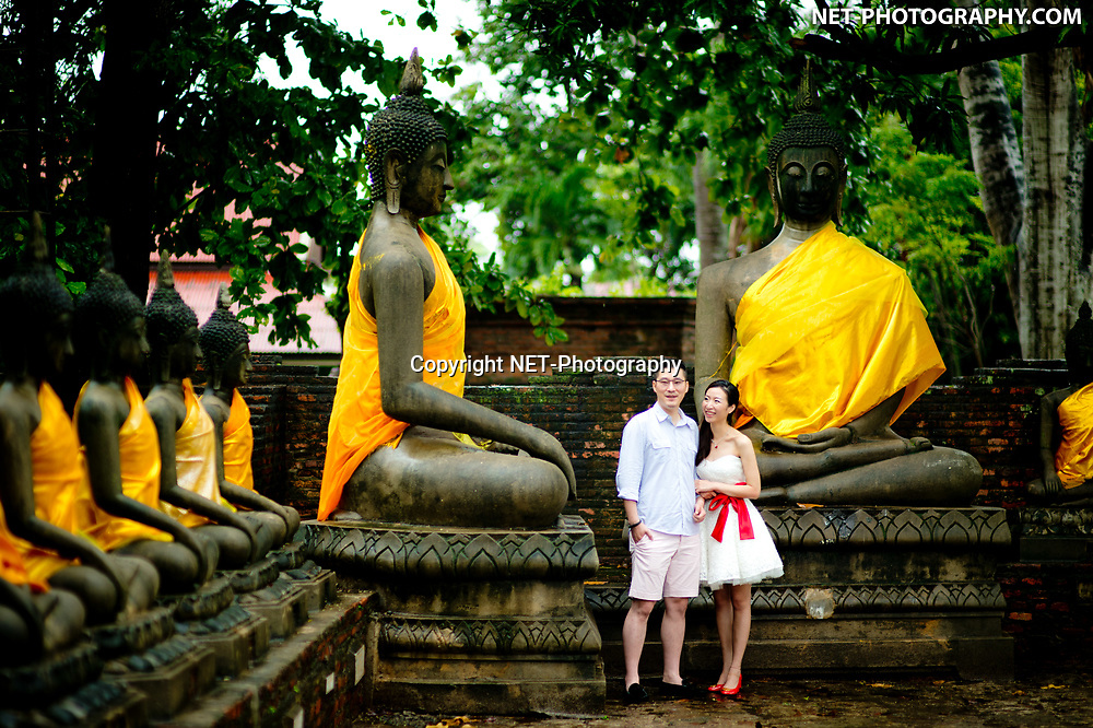Pre-Wedding (Engagement Session) at Wat Yai Chai Mongkhon in Ayutthaya, Thailand.<br /> <br /> <br /> Photo by NET-Photography<br /> Thailand Professional Documentary Wedding Photographer<br /> <br /> Read our blog post about this pre-wedding shoot at https://thailand-wedding-photographer.com/ayutthaya-bangkok-pre-wedding-engagement-session-prenuptial/<br /> <br /> <br /> https://thailand-wedding-photographer.com<br /> info@net-photography.com<br />   <br /> LIKE US ON FACEBOOK !<br /> https://www.facebook.com/thailandweddingphotographer/<br /> <br /> <br /> FOLLOW US ON INSTAGRAM !<br /> https://www.instagram.com/net__photography/