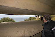 View from the command post of the German WW2 heavy battery at Longues sur Mer..., Travel, lifestyle ..., Travel, lifestyle