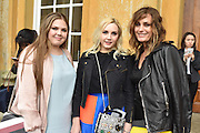 TALLULAH LE BON; SAFFRON LE BON; YASMIN LE BON, Dior presentation of the Cruise 2017 collection. Blenheim Palace, Woodstock. 31 May 2016