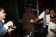 l to r: Kelly Coleman and Guest at The Birthday Celebration for Kelli Coleman held at The Avenue on Decemeber 6, 2009 in New York City