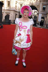 GRAYSON PERRY  at the Royal Academy of Art Summer Exhibition Preview Party on 4th June 2008.<br />