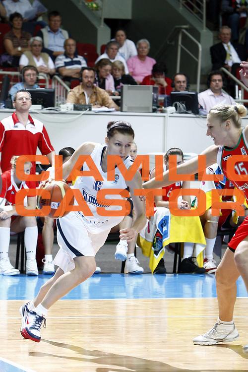 DESCRIZIONE : Riga Latvia Lettonia Eurobasket Women 2009 Quarter Final Slovacchia Bielorussia Slovak Republic Belarus<br /> GIOCATORE : Lucia Kupcikova<br /> SQUADRA : Slovacchia Slovak Republic<br /> EVENTO : Eurobasket Women 2009 Campionati Europei Donne 2009 <br /> GARA : Slovacchia Bielorussia Slovak Republic Belarus<br /> DATA : 17/06/2009 <br /> CATEGORIA : palleggio<br /> SPORT : Pallacanestro <br /> AUTORE : Agenzia Ciamillo-Castoria/E.Castoria