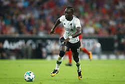 August 1, 2017 - Munich, Germany - Sadio Mane of Liverpool during the second Audi Cup football match between FC Bayern Munich and FC Liverpool in the stadium in Munich, southern Germany, on August 1, 2017. (Credit Image: © Matteo Ciambelli/NurPhoto via ZUMA Press)