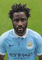 Manchester City's Wilfried Bony
