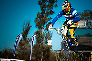 # 162 (SANTILLAN Hernan) ARG at the UCI BMX Supercross World Cup in Santiago del Estero, Argintina.