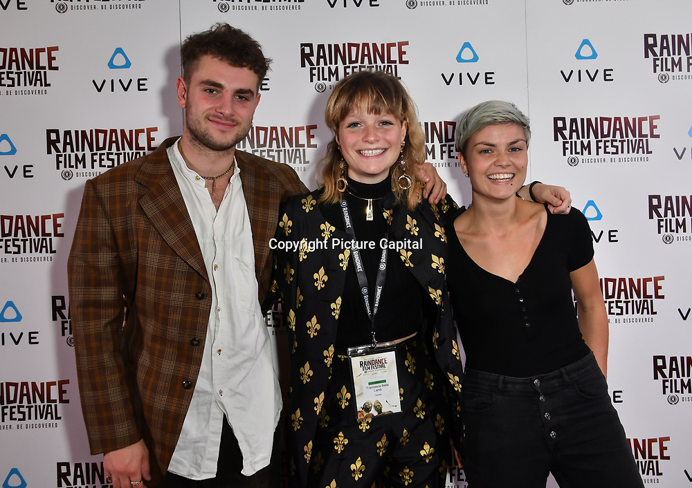 Johnnie Gay,  Chessie Lamb and Ana Marie Nominated attends the Raindance Film Festival - VR Awards, London, UK. 6 October 2018.