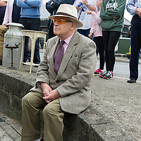 Oliver Moylan watching the opening of the 'The Castle', Antique, Arts & Craft Centre in Clarecastle