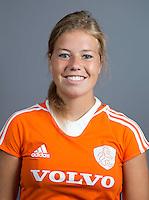 EINDHOVEN - SARAH JASPERS van Jong Oranje Dames, dat het WK in Duitsland zal spelen.  COPYRIGHT KOEN SUYK