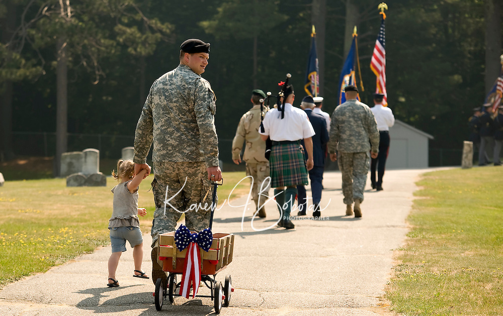 Gilford Memorial Day Parade May 31, 2010.  (Karen Bobotas/for the Laconia Daily Sun).