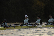 London. GREAT BRITAIN, 2007 Cambridge  University BC trial Eights,  Stay Calm [Surrey] Bow, David HOPPER, 2. Tobias GARNETT, 3. Jacob CORNELIUS,  4. Alistair MACLEOD, 6. Tom JAMES, 6. Colin SCOTT, 7.  Kristopher McDANIEL, Stroke. Thorsten ENGELMANN and Cox Rebecca DOWBIGGIN..Just Relax [Middx].Bow, David BILLINGS, 2. Dan SHAUGHNESSY, 3. Johannes KROMDIJK, 4. Oliver DE GROOT, 5. Peter CHAMPION, 6. Don WYPER, 7. Sebastian SCHULTE, Stroke. Kieran WEST. cox Russell GLENN during  the Trial Eights, between Putney and Chiswick  08.12.2006. [Photo, Peter Spurrier/Intersport-images]. Varsity:Boat Race, Rowing Course: River Thames, Championship course, Putney to Mortlake 4.25 Miles