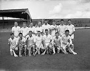 Junior Hurling Final at Croke Park, Kildare v Wicklow. Kildare Team..29.07.1962