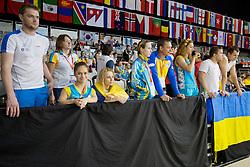 Team Ukraine Spectators UKR at 2015 IPC Swimming World Championships -