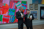 CHARLES JENCKS; ROGER ZOGOLOVITCH, Royal Academy of Arts Annual dinner. Piccadilly. London. 29 May 2012.