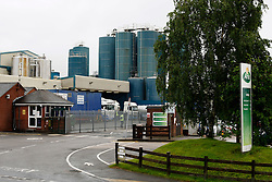 © Licensed to London News Pictures. 20/7/2012. Ashby de la Zouch, Leicestershire. Pictured the Arla milk processing plant in Ashby de la Zouch, Leicestershire. Photo credit : Dave Warren/LNP
