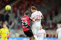 Nolan ROUX  - 08.03.2015 - Guingamp / Lille - 28eme journee de Ligue 1 <br /> Photo : Vincent Michel / Icon Sport