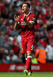 Dejan Lovren of Liverpool - Mandatory by-line: Matt McNulty/JMP - 27/08/2017 - FOOTBALL - Anfield - Liverpool, England - Liverpool v Arsenal - Premier League