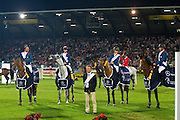 Eugenie Angot - Old Chap Tame, Roger Yves Bost - Nippon d' Elle, Penelope Leprevost - Mylord Carthago Hn, Olivier Guillon - Lord de Theize<br /> World Equestrian Festival, CHIO Aachen 2012<br /> © DigiShots