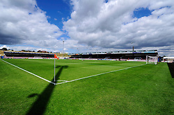 Coventry City play their first game at home at Sixfields Stadium - Photo mandatory by-line: Dougie Allward/JMP - Tel: Mobile: 07966 386802 11/08/2013 - SPORT - FOOTBALL - Sixfields Stadium - Sixfields Stadium -  Coventry V Bristol City - Sky Bet League One