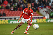 Jacob Brown of Barnsley FC during the EFL Sky Bet Championship match between Barnsley and Queens Park Rangers at Oakwell, Barnsley, England on 14 December 2019.