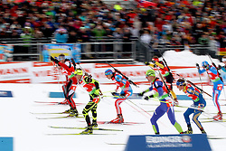 11.12.2011, Biathlonzentrum, Hochfilzen, AUT, E.ON IBU Weltcup, 2. Biathlon, Hochfilzen, Staffel Herren, im Bild Herrenstart // during Team Relay E.ON IBU World Cup 2th Biathlon, Hochfilzen, Austria on 2011/12/11. EXPA Pictures © 2011. EXPA Pictures © 2011, PhotoCredit: EXPA/ nph/ Straubmeier..***** ATTENTION - OUT OF GER, CRO *****