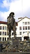 "William ""Skagway Bill"" Fonda Statue, Pioneer Home,"