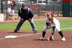 22 April 2017:  Alyssa Wiebel during a Missouri Valley Conference (MVC) women's softball game between the Missouri State Bears and the Illinois State Redbirds on Marian Kneer Field in Normal IL