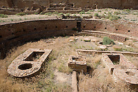 Kiva at Chetro Ketl, Chaco Canyon NHS, New Mexico