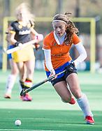 BLOEMENDAAL - Kiki Rozemeijer (Bl'daal) .hockey hoofdklasse dames Bloemendaal-Den Bosch (0-6) . COPYRIGHT KOEN SUYK