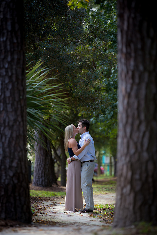 Akira and Jaime Yamamoto pose for romantic, loving photos at Westside Park in Gainesville, Florida.