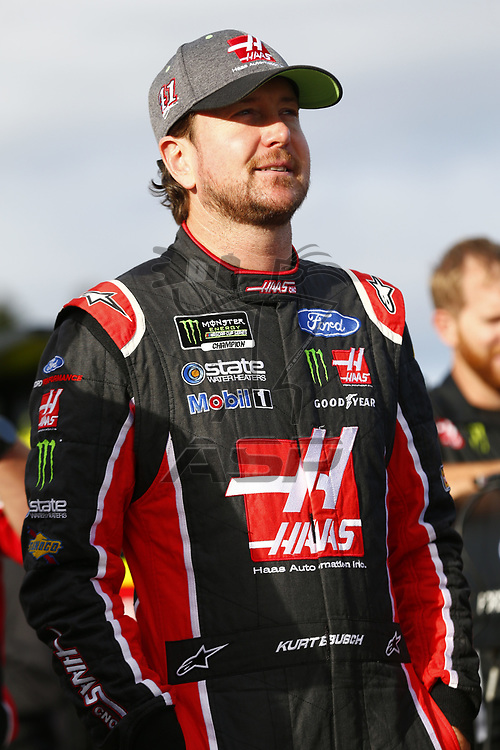 September 22, 2017 - Loudon, New Hampshire, USA: Kurt Busch (41) hangs out on pit road prior to qualifying for the ISM Connect 300 at New Hampshire Motor Speedway in Loudon, New Hampshire.