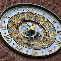 Astronomical Clock at City Hall in Oslo, Norway<br />