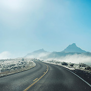 Big Bend in the Winter