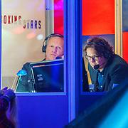 NLD/Amsterdam/20181031 - Boxingstars 2018, 1e aflevering, Maxim Hartman en Sander Schrik