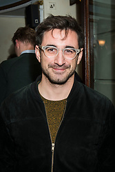 Ferdinand Kingsley attends the Beginning press night at the Ambassadors Theatre, London. Picture date: Tuesday 23rd January 2018.  Photo credit should read:  David Jensen/ EMPICS Entertainment