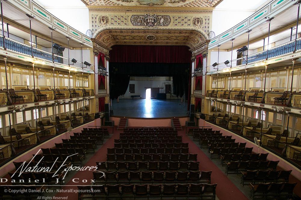 Teatro Tomas Terry Monumento Nacional Theatre, Ceinfuegos, Cuba